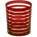 EDZARD Becher Nelson rot H 9 cm 4-teiliges Set