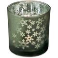 EDZARD Teelicht Schneeflocke H 8 cm