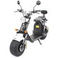 eFlux Harley Two Elektro Scooter weiss mit Straßenzulassung, 1500 Watt 60 Volt