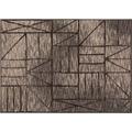 Einfach Schöner Teppich Ben, taupe 133 x 190