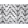 Einfach Schöner Teppich Laura, grau 133 x 190
