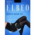 ELBEO Strumpfhose 60 Bauch Beine Po schwarz 38-40