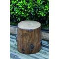 Elementi Abdeckung für Gasflaschen, Baumstamm-Optik Eco-Stone,für 5kg Gasbehälter