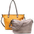 Emily & Noah Shopper Bag in Bag Surprise yellow birke 433D One Size
