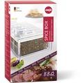 emsa Gewürzregal SPICE BOX Gewürz-Kartei mit 6 Gewürzen, BBQ, 0,075 Liter