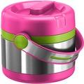 emsa Isolier-Speisegefäß MOBILITY Kids, Pink-Grün, 0,65 Liter