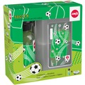 3279041-emsa KIDS TRITAN Trinkflasche & VARIABOLO Brotdose, Geschenk-Set, Soccer