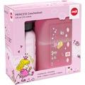 emsa Kinderset Trinkflasche KIDS + Brotdose VARIABOLO 16 x 11 x 7 cm, Princess