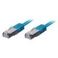 Equip Patchkabel 20,0m blau-2xRJ45 S/STP-C6 250MHz