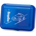 ergobag Brotdose 18 cm blaulichtbär blau