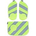ergobag Cubo Sicherheitsset 3tlg. mit Reflektorstreifen fluo gelb reflektierende streifen gelb