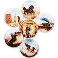ergobag Kletties-Set mit verschiedenen Motiven 17 cm Cowboys