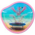 ergobag Klettie mit Motiv 9 cm flamingo flamingo