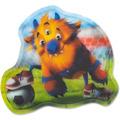 ergobag Kontur-Klettie 13 cm monster fußball monster fußball