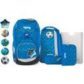 ergobag Pack Special Edition Schulranzen-Set 6tlg. inkl. Klettie-Set libäro 2 0 zickzack blau grün