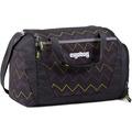 ergobag Sporttasche 40 cm drunter und drübär schwarz grün zickzack
