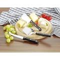 Esmeyer Käse-Set GOURMET4tlg. inkl. rundem Schneidebrett aus Holz