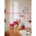 """ESPRIT Kids Streifentapete """"Girls Dreams"""", Vliestapete, metallic, rot, violett 10,05 m x 0,53 m"""