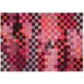 ESPRIT Teppich Pixel ESP-2834-01 rot 200 x 200 cm