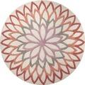 ESPRIT Teppich, Lotus Flower, ESP-4007-03 100 cm x 100 cm