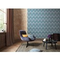 ESPRIT Vliestapete Eccentric Luxury Tapete blau grau metallic 10,05 m x 0,53 m