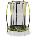 EXIT Tiggy Junior Trampoline ø140cm Lime + Sicherheitsnetz