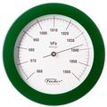 Fischer Messtechnik Barometer grün
