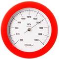 Fischer Messtechnik Barometer rot