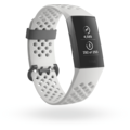 FitBit Charge 3 (NFC), SE Graphite/White Silicone