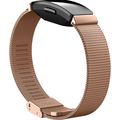 FitBit Inspire,Accessory Band,Metal Mesh,Rose Gold Stainless S