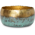 fleur ami HOOP MYSTIC Schale, 18/14 cm, gold/patina