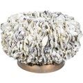 fleur ami OYSTER SHELL Pflanzgefäß, 50/30 cm, muschel-weiß