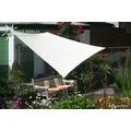 Floracord Vierecksonnensegel weiß 250 x 300 cm mit Regenschutz incl. Zubehör
