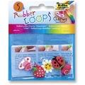 folia Rubber Loops Charms Sweetheart 5 Stück