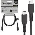Fontastic Datenkabel USB 2.0 Typ-C <> Typ-C 1.00m schwarz