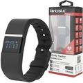 Fontastic Prime Bluetooth Aktivitätstracker FontaFit 120 Pulse sw Pulsmessung, Schritte, Kalorien, OLED Display