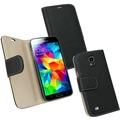 Fontastic PU Tasche Diary Noma schwarz für Samsung Galaxy S5