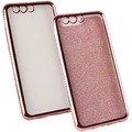 Fontastic Softcover Clear Diamond Ultrathin rosegold komp. mit Huawei P10