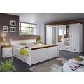 Frankenmöbel Bett mit BK 140x200 honig