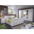 Frankenmöbel Bett mit BK 140x200 weiß
