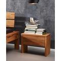 Frankenmöbel Nachttisch mit 1 Schubkasten Wildbuche