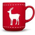 Friesland 4er Set Becher, Reh, Happymix, Friesland, 0,25l Weihnachten Rot