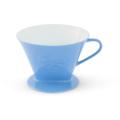 Friesland Kaffeefilter, Kannen & Kaffeefilter, 1x4 / 1-Loch Azurblau