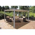 Garden Pleasure Pavillon PECOS (OP) Alu / Stahl / Polyester 180 g/m²