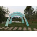 Garden Pleasure Pavillon TICINO 190T Polyester / Fiberglass, türkis