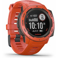 Garmin Instinct Outdoor-Smartwatch rot