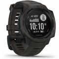 Garmin Instinct Outdoor-Smartwatch schiefergrau/schwarz