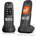 Gigaset E630HX Duo, schwarz