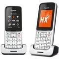 Gigaset SL450HX Duo, platin/schwarz