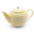 Gmundner Gelbgeflammt, Teekanne glatt 0,5L